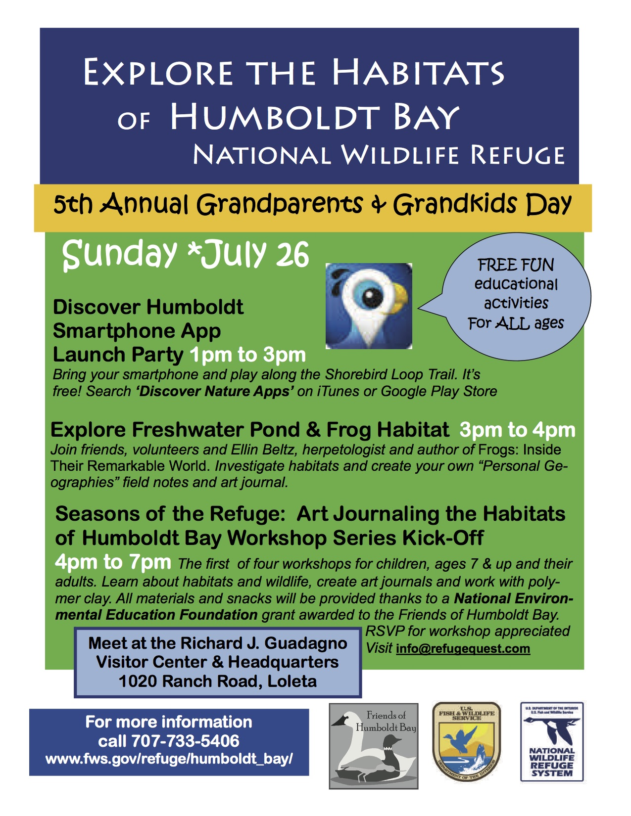 Lots of fun with nature on sunday the 26th khum freeform radio humboldt county for Humboldt swimming pool schedule